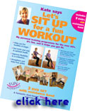 Let's Sit Up - Senior fitness - best workout for seniors